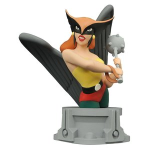 Justice League Animated Bust Hawkgirl 15cm