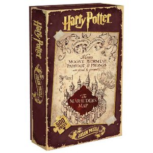 Harry Potter Jigsaw Puzzle Marauder's Map