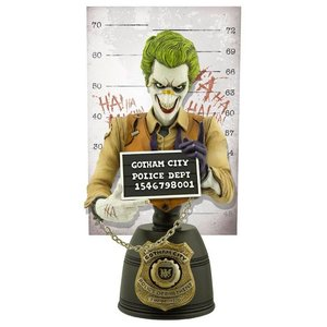 DC Comics Mugshot Bust The Joker 19 cm