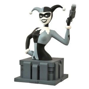 Batman The Animated Series Büste Fast Got 'Im Harley Quinn Black & White NYCC 2015 Exclusive 15 cm