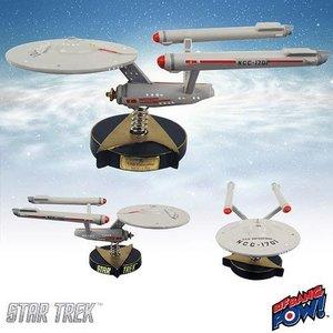 Star Trek TOS Bobble-Figure USS Enterprise NCC-1701 19 cm