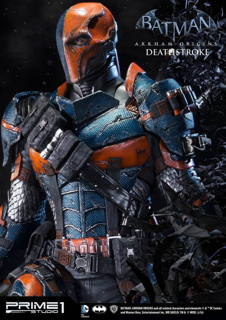Batman Arkham Origins 1/3 Statue Deathstroke 76 Cm