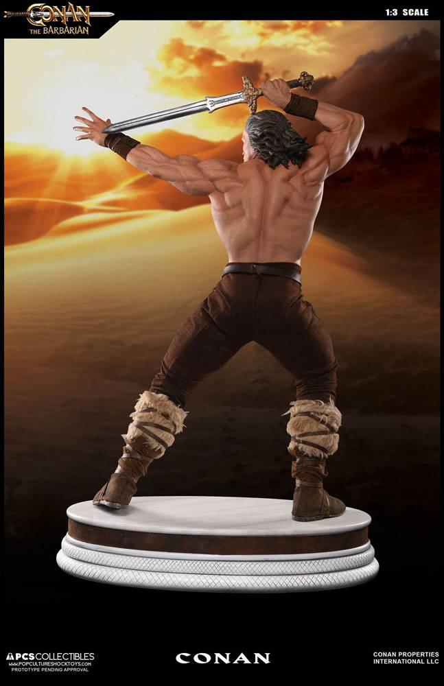 Conan the Barbarian Mixed Media Statue 1/3 Conan Classic ...