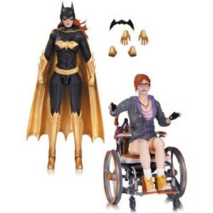 Batman Arkham Knight Action Figure 2-Pack Batgirl and Oracle 17 cm