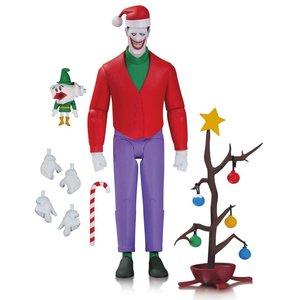 Batman The Animated Series Action Figur Weihnachten mit der Joker 15 cm