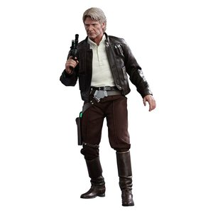 Star Wars Episode VII Movie Masterpiece Action Figure 1/6 Han Solo 30 cm