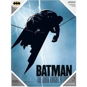 The Dark Knight Returns Glass Poster Batman 30 x 40 cm