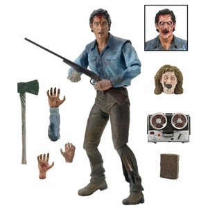 Evil Dead 2 Action Figure Ultimate Ash 18 cm