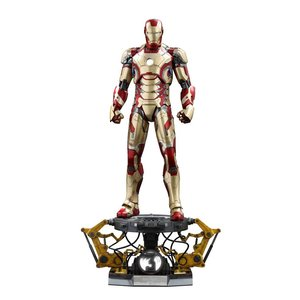 Iron Man 3 QS Series Action Figure 1/4 Iron Man Mark XLII Deluxe Version