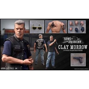 Sons of Anarchy Action Figur 1/6 Clay Morrow 31 cm