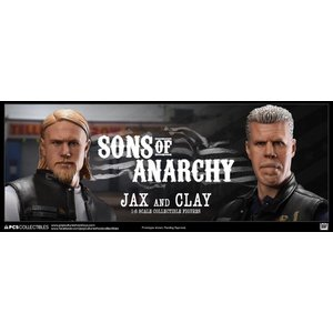 Sons of Anarchy Action Figure 1/6 Jax Teller & Clay Morrow