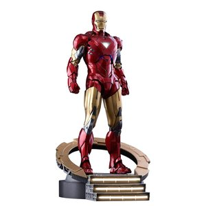 Marvel's The Avengers Movie Masterpiece Diecast Action Figur 1/6 Iron Man Mark VI 32 cm