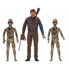Ash vs. Evil Dead Actionfiguren 3er-Pack Blutige Ash gegen Dämon Spawn 14-18 cm