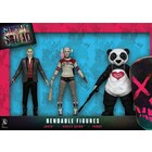 Suicide Squad Bendable Figures 3-Pack