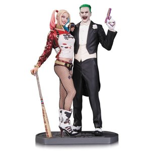 Suicide Squad Statue Joker & Harley Quinn 30cm