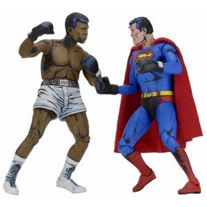 DC Comics Action-Figur 2-Pack Superman vs. Muhammad Ali Special Edition 18 cm