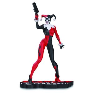 DC Comics Red, White & Black Statue Harley Quinn by Jim Lee 17 cm
