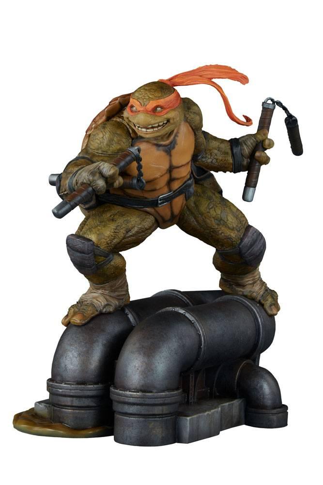 Teenage mutant ninja turtles statue michelangelo 30 cm - Tortue ninja michael angelo ...