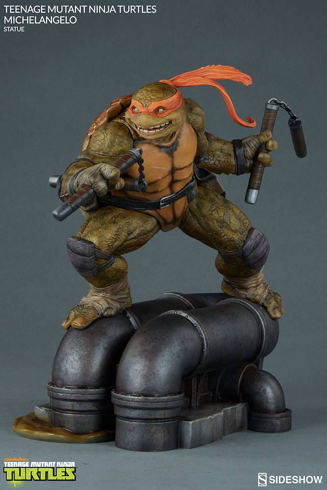 Teenage Mutant Ninja Turtles Statue Michelangelo 30 cm ...