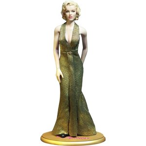 Gentlemen Prefer Blondes My Favourite Legend Action Figure 1/6 Marilyn Monroe Gold Dress Ver. 29 cm