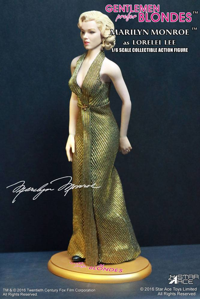 Gentlemen Prefer Blondes My Favourite Legend Action Figure 1/6 ...