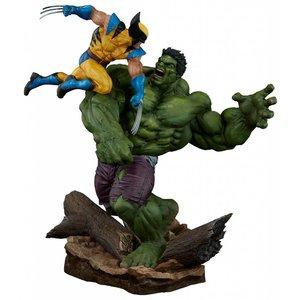 Marvel Maquette Hulk vs. Wolverine 58 cm