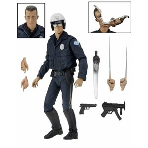 Terminator 2 Action Figur Ultimate T-1000 (Motorcycle Cop) 18 cm