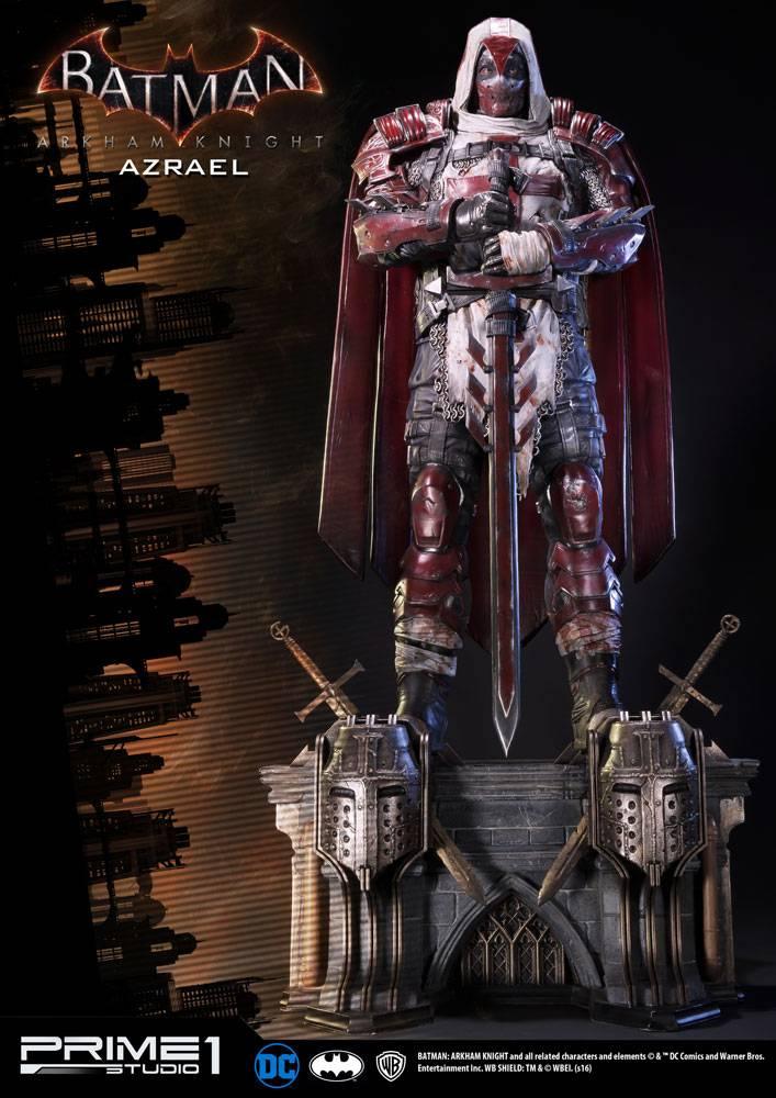 Batman Arkham Knight 1 3 Statue Azrael 82 Cm