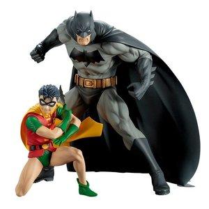 DC Comics: Batman & Robin Two-Pack Artfx+ Statue