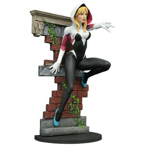 Marvel Gallery PVC Statue Spider-Gwen Unmasked SDCC 2016 Exclusive 23 cm