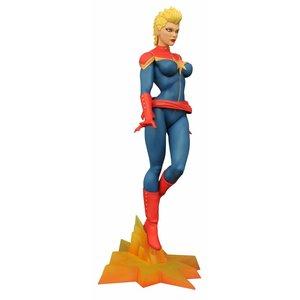 Marvel Femme Fatales PVC Statue Captain Marvel Mohawk SDCC 2016 Exclusive 23 cm