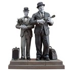 Laurel & Hardy Statue Honolulu Baby