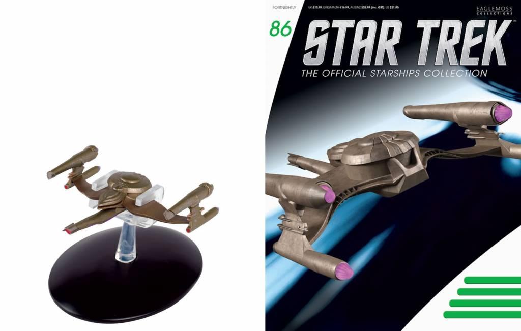 Star Trek Gorn Starship Model with Magazine #86 by Eaglemoss
