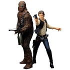 Star Wars ARTFX+ Statue 2-Pack Han Solo & Chewbacca