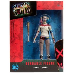 Suicide Squad Biegsame Figur Harley Quinn 14 cm