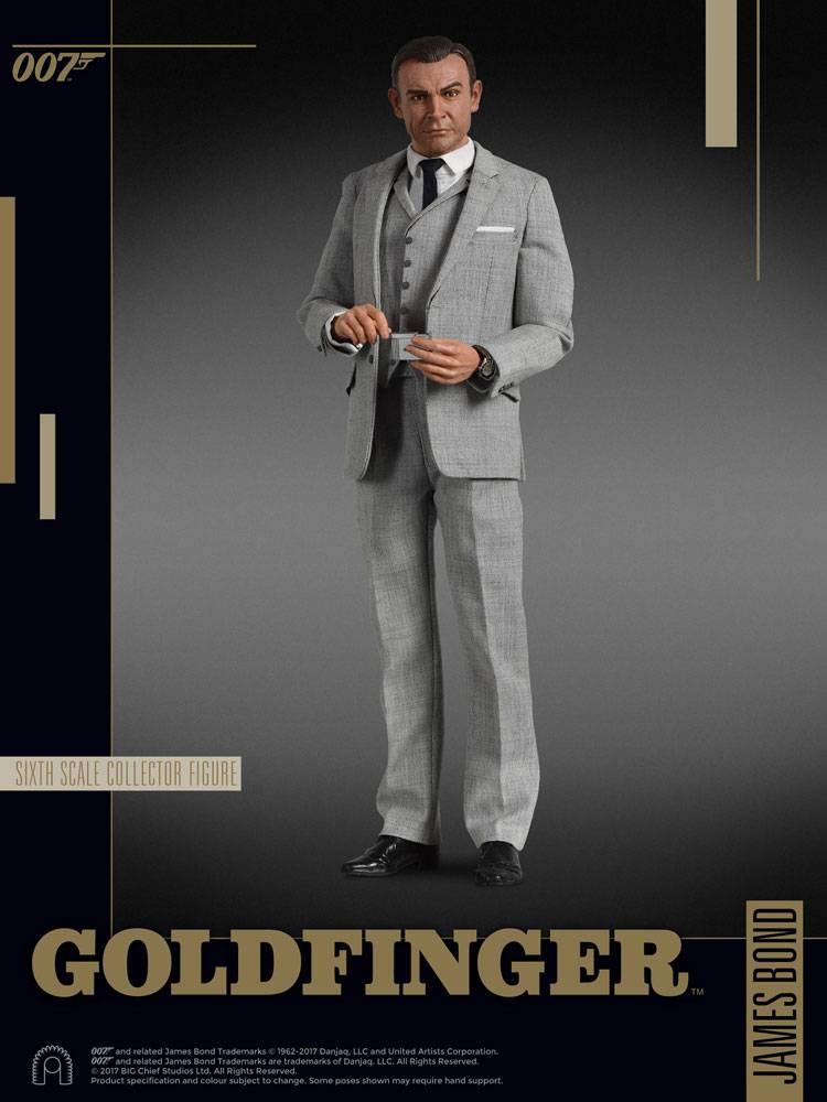 c533d4536906 James Bond Goldfinger Collector Figure Series Action .