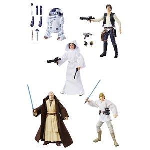 Star Wars Black Series Action Figures 15 cm 40th Anniversary Wave 1 Assortment (5)