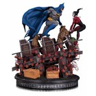 DC Comics Batman Statue 1/8 W. Harley Quinn Battle 36 cm