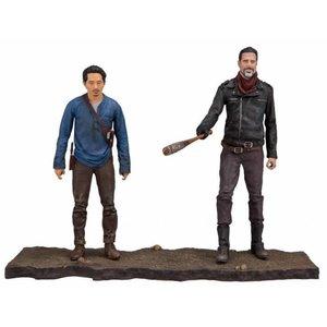 The Walking Dead TV Version Action Figure 2-pack Negan & Glenn 13 cm