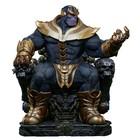 Marvel Comics Modell Thanos auf Thron 54 cm