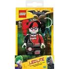 Lego Batman Film Mini-Taschenlampe Schlüsselanhänger mit Harley Quinn
