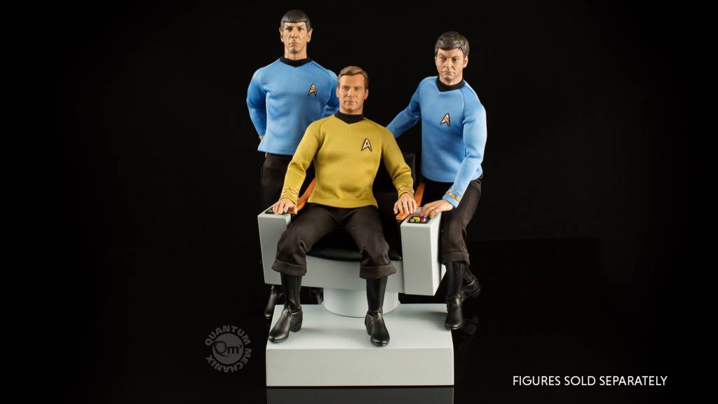 Star Trek Tos Captain S Chair 1 6 Scale Replica The
