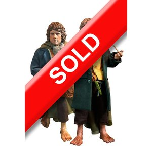 Lord of the Rings Action Figure 2-Pack 1/6 Merry & Pippin 20cm