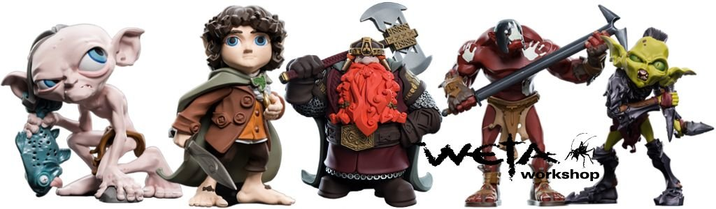 Lord of the Rings Mini Epics Vinyl Figures
