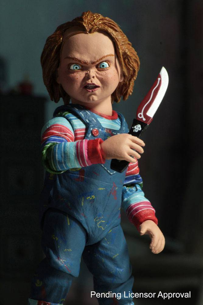 child s play action figure ultimate chucky 10 cm the movie store