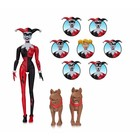 Batman The Animated Series Action Figure Harley Quinn Expressions Pack