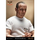 The Silence of the Lambs Action Figure 1/6 Hannibal Lecter White Prison Uniform Version