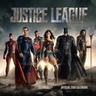 Justice League Calendar 2018 English Version