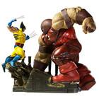 Marvel: Wolverine vs Juggernaut Maßstab 1: 6 Diorama
