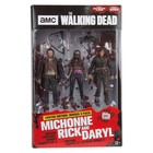 The Walking Dead TV Version Action Figure 3-pack Heroes